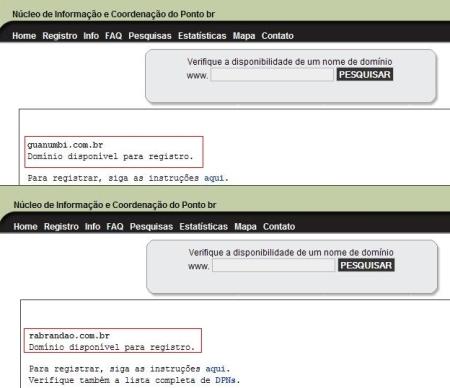 RA brandao registro dominios