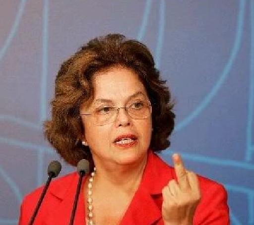 Dilma Roussef e sua delicadeza na defesa de Erenice Guerra
